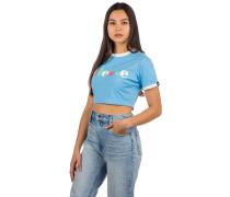 Talibon Crop T-Shirt light blue