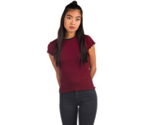 Colder Shoulder T-Shirt chili red