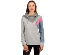Charming Fleece Pullover grey rose blue