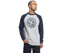 Circle Star Crew Sweater grey heather