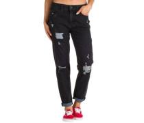 Easton Jeans black destruct