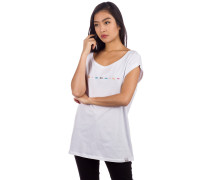 Iriecolor T-Shirt white