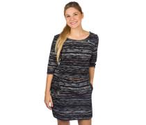 Tanya Print Dress black