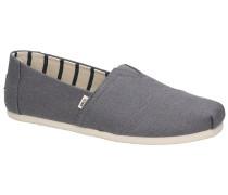 Alpargata Slip-Ons dark grey