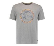 Circle Surfer T-Shirt silver melee