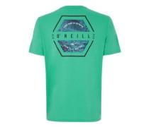 Team Hybrid T-Shirt salina green
