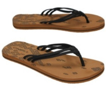 3 Strap Ditsy Sandals Women black out