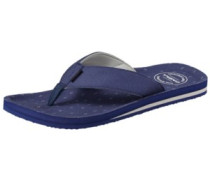 Chad Pattern Sandals blue aop