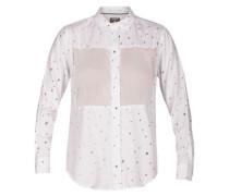 Wilson Mesh Dot Shirt LS white