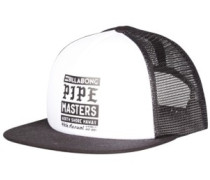 Pipe Poster Trucker Cap white