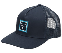 Stacked Trucker Cap marine