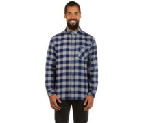 Motherfly Flannel Shirt LS medieval blue motherfly