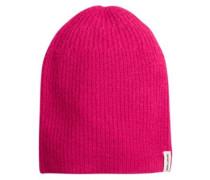 Dark Winter Beanie rebel pink