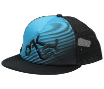 Novelty Logo Trucker Cap atomic blue