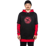Dryden Fleece Hoodie racing red