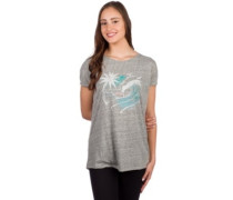 Waves T-Shirt silver melee