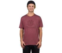 Vertical T-Shirt oxblood heather