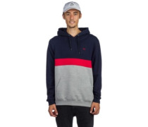 Court Hoodie navy red