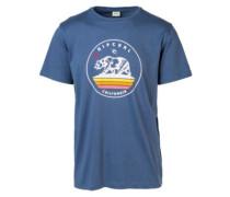 Newbear T-Shirt blue indigo