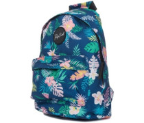 Mini Dome Flora Backpack blue