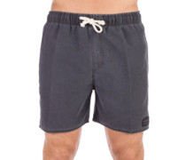 "Volley Solid 16"" Boardshorts pirate black"
