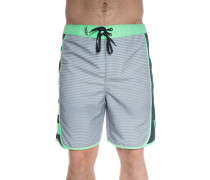 Phantom Motion Stripe Boardshorts wolf grey
