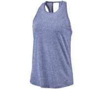 Ridge Flow Tank Top cobalt blue