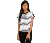 Odessa Box Shirt black stripe