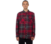 Travis Flannel Shirt LS heather charco