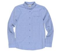 Bowmont Shirt LS oxford blue