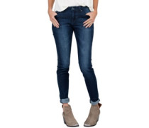 Super Stoned Skinny Jeans double down indigo