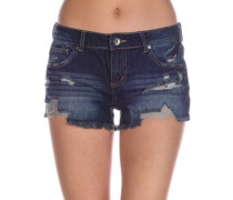 Jenna Shorts dark destructed