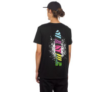 Swallow Tail T-Shirt black