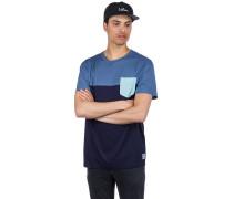 Block Pocket T-Shirt thunder blue