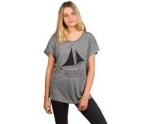 Boat Dolman T-Shirt premium heather