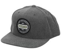 Navigate Snapback Cap washed black