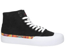 TFunk Hi S Skate Shoes white print