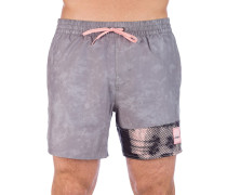 Textured Boardshorts grey aop