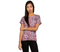 Sublimation Print T-Shirt pink aop