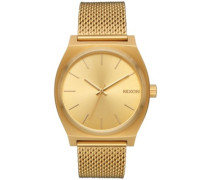 The Time Teller Milanese all gold