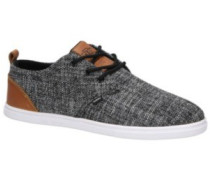 LowLau Colored Linen Sneakers black