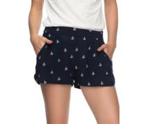 Miami Beachy Shorts dress blues emby anchor