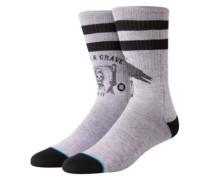 Lifes A Grave Socks grey