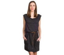 Tag Dress black melange