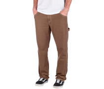 Whaler Util Twill Pants dark brown