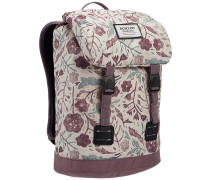 Tinder Backpack etched flowers bgs