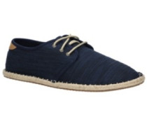 Diego Sneakers navy slubby cotton