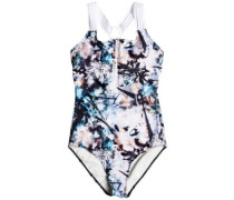 Fitness Sporty Swimsuit bachelor button water of
