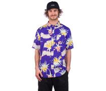 Arachnofloria Shirt purple