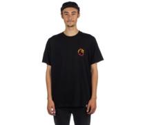 Burning C T-Shirt black